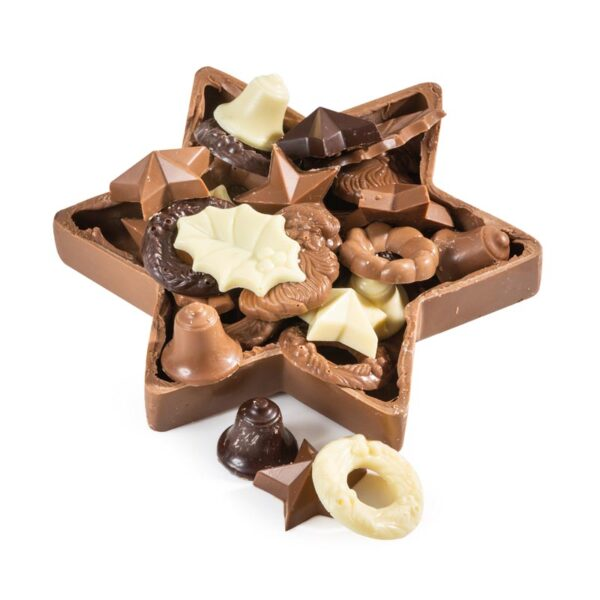 Kerst Choco ster
